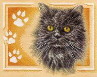 """Вышивка крестом """"Персидский кот"""" (320х260 мм)"""