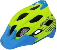 """Шлем велосипедный """"Raptor MTB"""" (салатово-синий; р. S-M)"""
