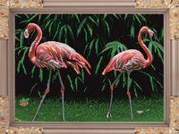 """Вышивка бисером """"Фламинго"""" (305х415 мм)"""