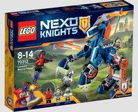 """LEGO Nexo Knights """"Ланс и его механический конь"""""""