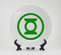 "Тарелка ""Зеленый Фонарь"" (309)"
