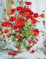 "Картина по номерам ""Красные маки"" (400х500 мм; арт. PC4050125)"