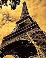 """Картина по номерам """"Эйфелева башня"""" (500х400 мм)"""