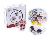 "Набор для завтрака ""Party Mickey"" (3 предмета)"