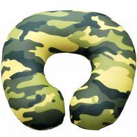 """Подушка под шею """"Хаки"""" (34х34 см; зелёная)"""