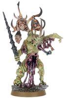 """Миниатюра """"Warhammer. Chaos Daemons Herald of Nurgle"""" (97-25)"""