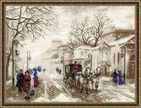 """Вышивка крестом """"Старая улочка"""" (арт. 1400)"""