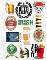 "Набор виниловых наклеек №25 ""Beer"""
