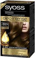 """Краска для волос """"Oleo intense"""" тон: 4-60, золотистый каштановый"""