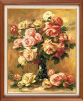 "Вышивка крестом ""Ренуар. Розы"" (420х340 мм)"