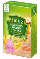 """Детская каша Heinz Baby """"Пшенично-овсяная с фруктиками"""" (200 г)"""