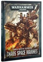 Warhammer 40.000. Codex: Chaos Space Marines (8th edition)
