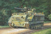 """Зенитная самоходная установка """"M163 Vulcan"""" (масштаб: 1/72)"""