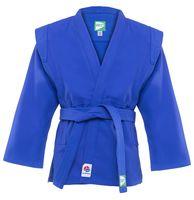 Куртка для самбо JS-303 (р.2/150; синяя)