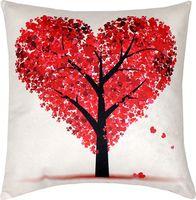 "Подушка ""Сердечное дерево"" (35x35 см; арт. 08-811)"