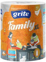 """Бумажные полотенца """"Family XL"""" (1 слой; белые)"""