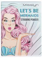 """Хайлайтер для лица """"Lets be Mermaids Strobing Powder"""" (тон: 2)"""