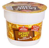 """Пюре картофельное быстрого приготовления """"Бизнес Ланч. Со вкусом курицы гриль"""" (40 г)"""
