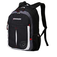 """Рюкзак WENGER """"MONTREUX"""" (26 литров, черный/серый/серебристый/красный)"""