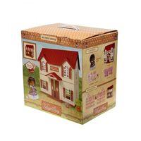 """Дом для кукол """"Домик с красной крышей"""""""