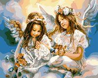 """Картина по номерам """"Два ангела"""" (400х500 мм; арт. PC4050129)"""
