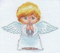 "Вышивка крестом ""Мой ангел"" (140х130 мм)"