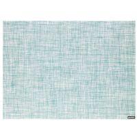 """Подставка сервировочная пластмассовая """"Tweed"""" (482х362 мм; голубая)"""