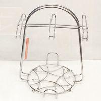 Подставка-вешалка для чашек металлическая (на 6 шт.; 210х210х270 мм)