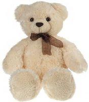 """Мягкая игрушка """"Медведь белый с бантом"""" (69 см)"""