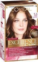 """Крем-краска для волос """"Color Excellence Creme"""" (тон: 5.3, cветло-каштановый золотистый)"""