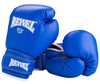 Перчатки боксёрские RV-101 (8 унций; синие)