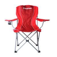 Кресло складное KingCamp Arms Chair (цвет: красный)