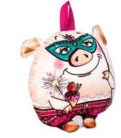 """Подарочная упаковка """"Свинка с клубничкой"""""""