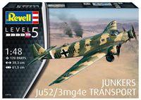 "Сборная модель ""Самолет Junkers Ju52/3mg4e Transport"" (масштаб: 1/48)"