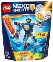 "LEGO Nexo Knights ""Боевые доспехи Клэя"""