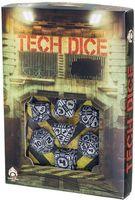 """Набор кубиков """"Tech"""" (7 шт.; серо-черный)"""