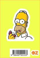 """Глянцевая наклейка """"Симпсоны. Гомер"""" (арт. 153)"""
