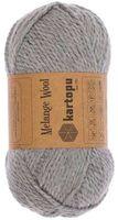 """Пряжа """"KARTOPU. Melange Wool №M1009"""" (100 г; 170 м; серый)"""