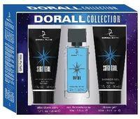 """Подарочный набор """"Saraqael"""" (туалетная вода, гель для душа, бальзам после бритья)"""