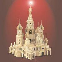 """Сборная деревянная модель """"Церковь"""""""