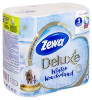 Туалетная бумага Zewa Deluxe (4 рулона)