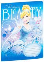 """Тетрадь в клетку """"Princess"""" (12 листов; в ассортименте)"""