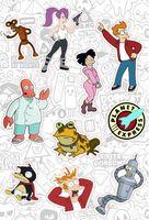 "Набор глянцевых наклеек ""Futurama №10"""