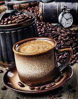 "Алмазная вышивка-мозаика ""Кофе-брейк"" (380х480 мм)"