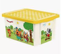 """Ящик для хранения игрушек """"Три кота. Игры"""" (арт. LA1525)"""