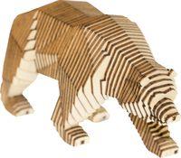 """Сборная деревянная модель """"Параметрический медведь"""""""