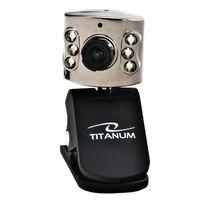Веб-камера Titanum TC102 AMBER с микрофоном