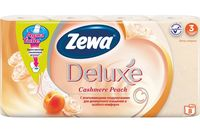 """Туалетная бумага """"Zewa Deluxe. Персик"""" (8 рулонов)"""