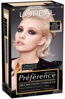 """Краска для волос """"Preference"""" (тон: 102, светло-светло русый жемчужный)"""