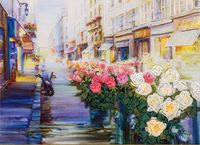 """Набор для вышивания """"Цветы Парижа"""""""